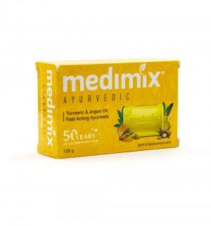 Мыло Медимикс с куркумой и арганой (Turmeric & Argan oil soap), Medimix