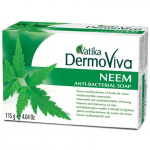 Мыло антибактериальное с нимом Neem, Vatika DermoViva