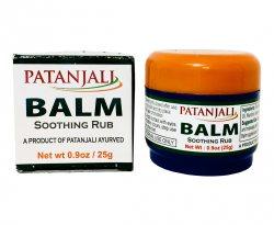 Бальзам с эвкалиптовым маслом (BALM soothing rub), Patanjali