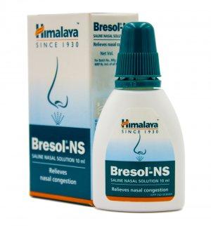 Капли для носа Бресол (Bresol NS), Himalaya Herbals