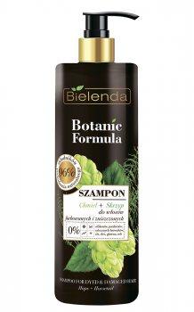 Шампунь для крашеных волос хмель-хвощ (Botanic Formula), Bielenda