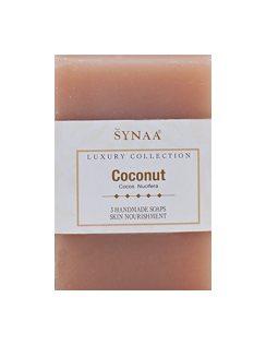 Натуральное мыло ручной работы Кокос, Synaa