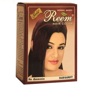 Натуральная краска для волос REEM GOLD, бургунд