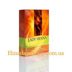 Травяная краска для волос Lady Henna, Медная