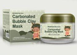 Пузырьковая глиняная маска Bioaqua carbonated bubble clay mask