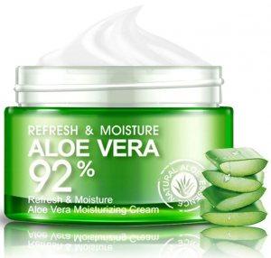Крем-гель Алоэ Вера освежающий и увлажняющий для лица и шеи (Aloe Vera Cream), Bioaqua