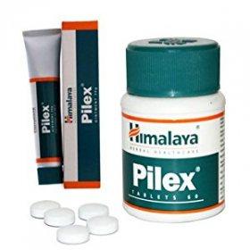 Мазь и таблетки Пайлекс (Pilex), Himalaya Herbals