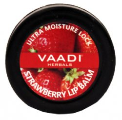 Увлажняющий бальзам для губ Клубника, Vaadi