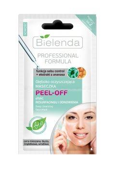 Глубоко очищающая маска Peel-Off, Bielenda