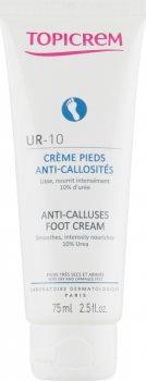 Крем для ног от натоптышей и мозолей UR-10 (Anti-Calluses Foot Cream), Topicrem