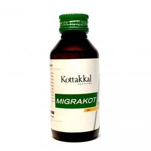 Аюрведическое масло против головной боли Migrakot, Kottakkal