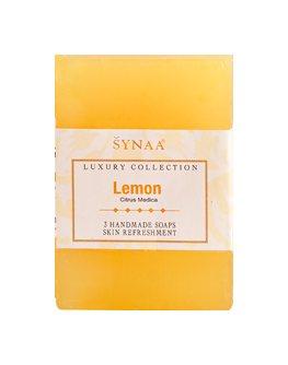 Натуральное мыло ручной работы Лимон, Synaa
