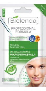 Маска-пилинг с эффектом бриллиантовой микродермабразии для жирной и проблемной кожи, Bielenda