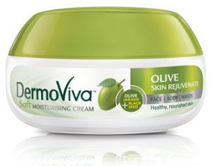 Крем восстанавливающий с оливками DERMOVIVA, VATIKA