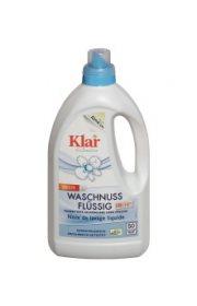Органическое жидкое средство для стирки с экстрактом мыльного ореха, Klar