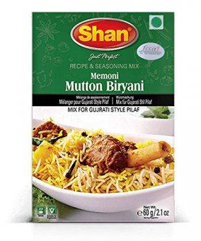 Приправа Memoni Mutton Biryani, Shan