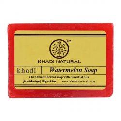 Аюрведическое мыло ручной работы Арбуз (Watermelon soap), Khadi