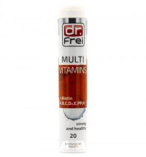 Мультивитамин + Биотин (Multivitamins + Biotin), Dr. Frei