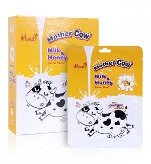 """Тканевая маска """"Молоко и Мёд"""" (Milk&Honey Facial Mask), Moods"""