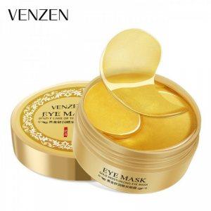 Гидрогелевые патчи с золотом и спирулиной (Eye Patch Gold & Spirulina), Venzen