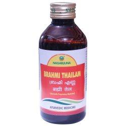 Массажное масло Брами Тайлам (Brahmi Thailam), Nagarjuna
