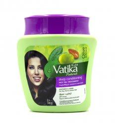 Маска для сухих, тусклых и безжизненных волос, Vatika Dabur