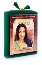 Аюрведическая лечебная краска для волос AASHA Herbals, Вишневое вино