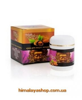 Крем для лица с миндалем AASHA GOLD, Aasha Herbals
