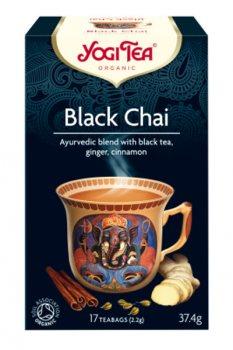 Аюрведический чай Чёрный Чай (Black Chai), Yogi Tea