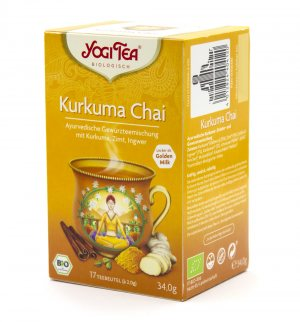 Аюрведический йога чай Kurkuma Chai, Yogi tea