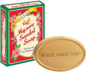 Аюрведическое Сандаловое мыло Mysore Sandal Soap, Karnataka Soaps