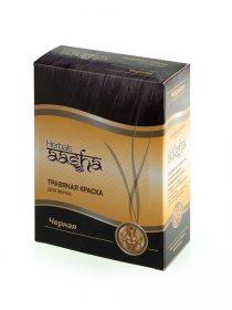 Травяная краска для волос Aasha Herbals, Черная