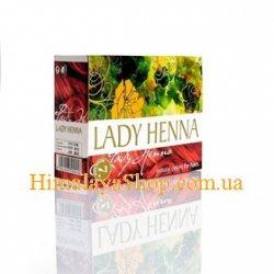 Краска для волос на основе хны Lady Henna, Махагони