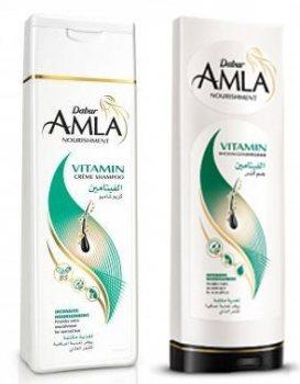 Шампунь и кондиционер Интенсивное питание Amla Vitamin, Dabur