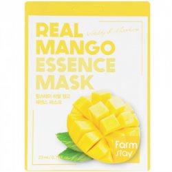 Тканевая маска для лица с экстрактом манго (Real Mango Essence Mask), Farmstay