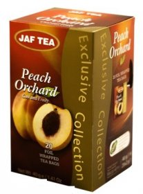 Чай Jaf Tea Black Tea Peach Orchad в пакетиках