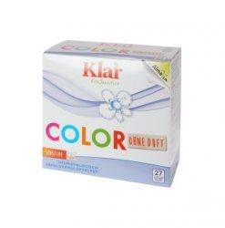Органический стиральный порошок для цветных вещей, Klar