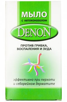 Мыло против грибка, воспаления и зуда Денон (Denon), Zee