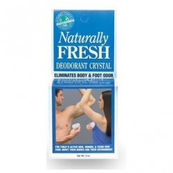 Кристаллический дезодорант на блюдце, Naturally Fresh