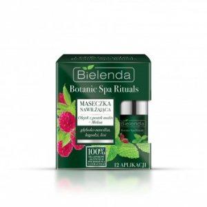 Маска увлажняющая малина-мелиса Botanic Spa Rituals, Bielenda