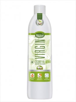 Кокосовое масло пищевое Virgin, Nirmal Naturals