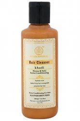 Травяной шампунь-кондиционер Хна и Тулси (Henna & Tulsi Extra Conditioning Hair Cleanser), Khadi