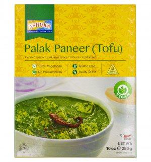 Готовое блюдо Палак Панир (Тофу) (Palak Paneer (Tofu)), Ashoka