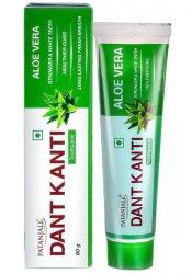 Аюрведическа зубная паста с Алоэ Вера (Aloevera Herbal Toothpaste), Patanjali