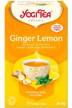 Аюрведический йога чай Имбирь Лимон (Ginger Lemon), Yogi Tea