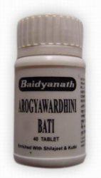 Арогьявардхини бати (Arogyawardhini bati), Baidyanath