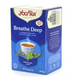 Аюрведический йога чай Глубокое Дыхание (Breathe Deep), Yogi tea