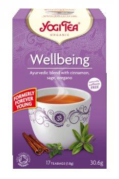 Аюрведический йога чай Wellbeing (Forever Young), Yogi tea