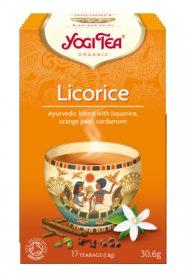 Аюрведический йога чай Licorice, Yogi tea