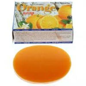 Мыло с апельсином Orange, Satya